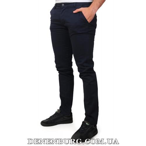 Брюки мужские TOMMY HILFIGER 19-8056-11 тёмно-синие