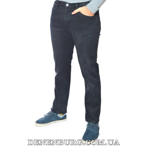 Джинсы мужские утеплённые VOUMA-UP 19-FH7123 чёрные