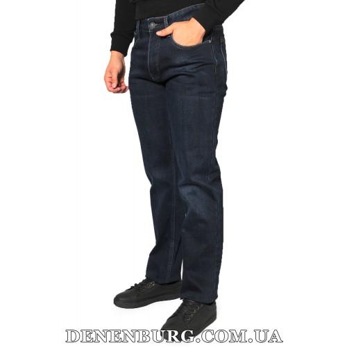 Джинсы мужские утеплённые PAGALEE 19-P1019 тёмно-синие