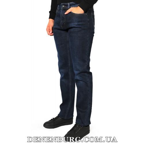 Джинсы мужские утеплённые PAGALEE 19-P1045 тёмно-синие
