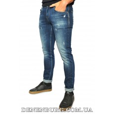 Джинсы мужские FRANCO BENUSSI 20-112 тёмно-синие