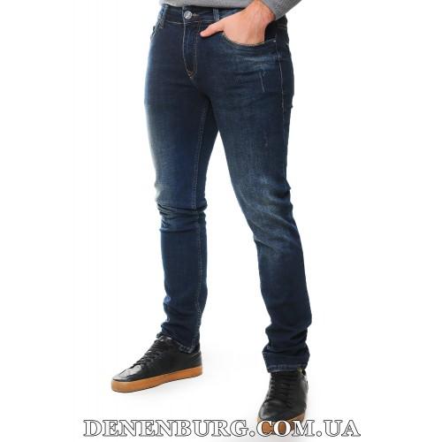 Джинсы мужские PRADA 20-40240 тёмно-синие