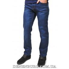 Джинсы мужские утеплённые POBEDA 3355 тёмно-синие