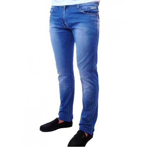 Джинсы мужские POBEDA 8310 голубые