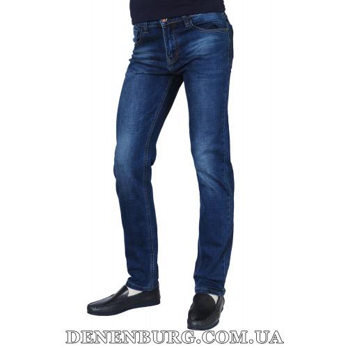Джинсы мужские POBEDA 8387 синие