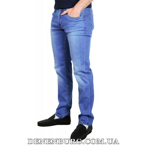 Джинсы мужские DISVOCAS 8571 голубые