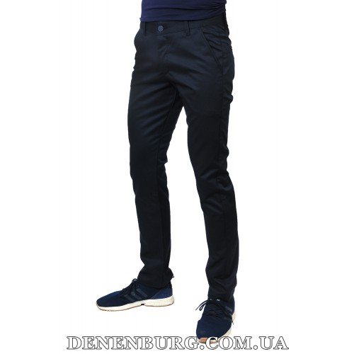 Брюки мужские MUZZO MU-1015 тёмно-синие