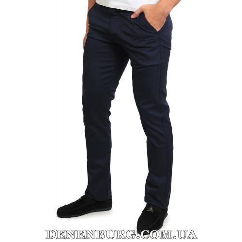 Брюки мужские MUZZO MU-1040 тёмно-синие