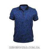 Футболка-поло мужская TONY MONTANA 9638 тёмно-синяя