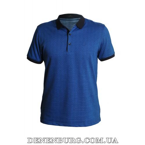 Футболка-поло мужская VIKTORIO 9668 тёмно-синяя