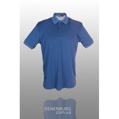 Футболка-поло мужская TOMMY HILFIGER T1122 (B) синяя
