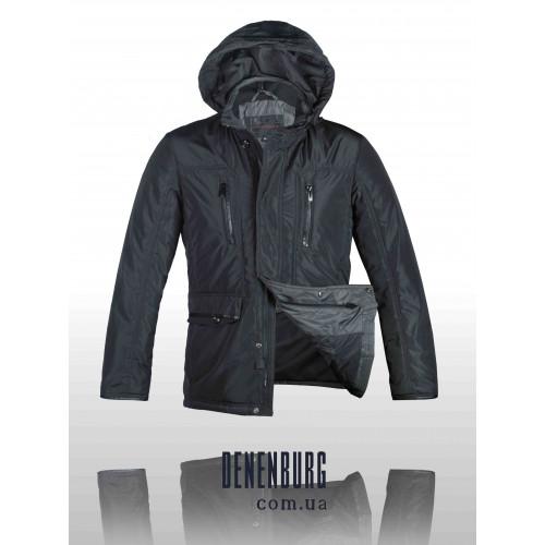 Куртка мужская демисезонная KARVIN MAX 125-06 A тёмно-зелёная