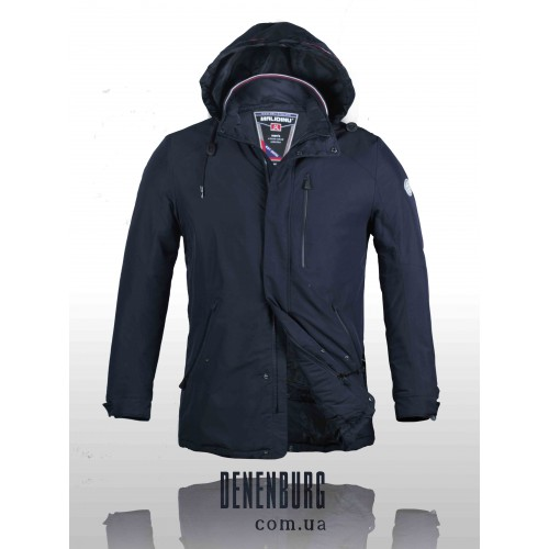 Куртка мужская демисезонная MALIDINU MC 15116 2A тёмно-синяя