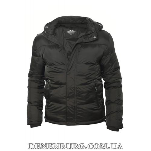 Куртка мужская еврозима RLZ 19-1901 чёрная