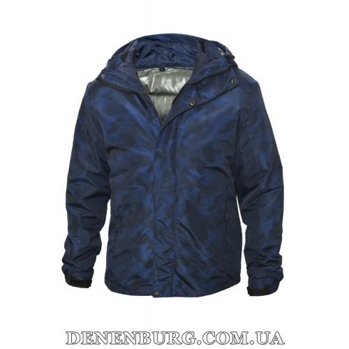 Куртка мужская еврозима RLZ 19-57267 синяя