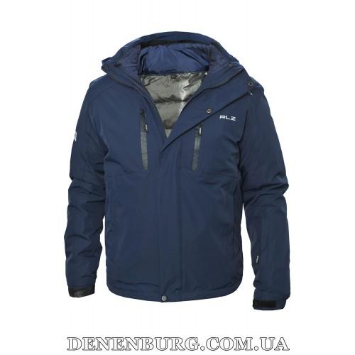 Куртка мужская еврозима RLZ 19-57276 тёмно-синяя