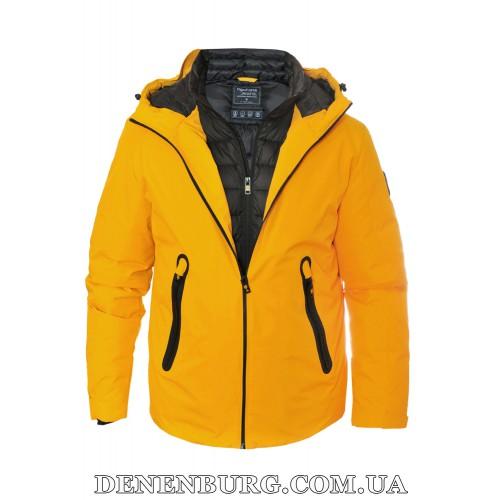 Куртка мужская зимняя TIGER FORCE 19-70570 жёлтая