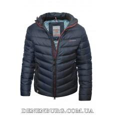 Куртка мужская зимняя BLACK VINYL 19-C19-1528QG тёмно-синяя
