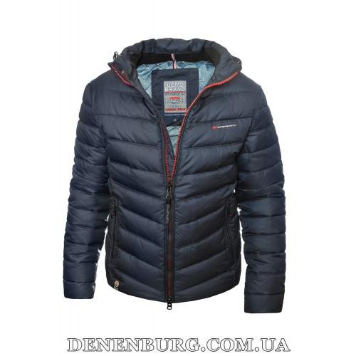 Куртка мужская зимняя BLACK VINYL 20-C20-1528QG (CB) тёмно-синяя