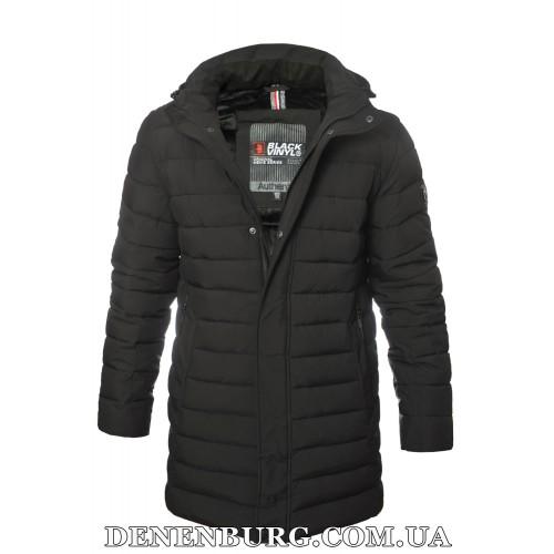 Куртка мужская зимняя BLACK VINYL 19-C19-1558C чёрная