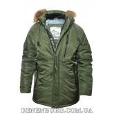 Куртка мужская зимняя BLACK VINYL 19-C19-1561S19M2 зелёная