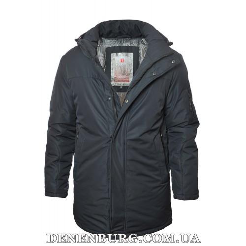 Куртка мужская зимняя BLACK VINYL 19-C19-1590 тёмно-синяя