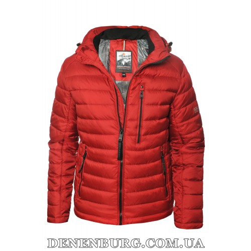 Куртка мужская зимняя INDACO 20-IC775-1CQ бордовая