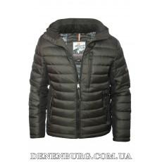 Куртка мужская зимняя INDACO 19-IC775-1CQ чёрная