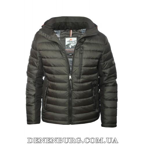 Куртка мужская зимняя INDACO 20-IC775-1CQ чёрная
