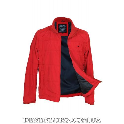 Куртка мужская демисезонная TOMMY HILFIGER 2121 красная