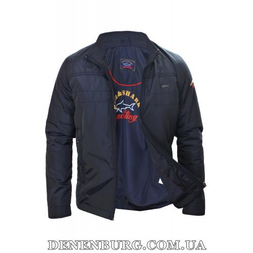 Куртка мужская демисезонная PAUL & SHARK 3008 тёмно-синяя