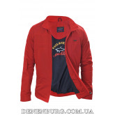 Куртка мужская демисезонная PAUL & SHARK 3008 красная