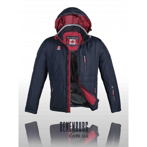 Куртка мужская демисезонная CANADIENS 54-01 сине-красная