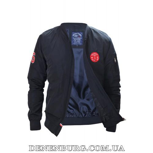 Куртка мужская демисезонная TOMMY HILFIGER 6303 тёмно-синяя