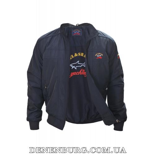 Куртка мужская демисезонная PAUL & SHARK 9005 (B) тёмно-синяя