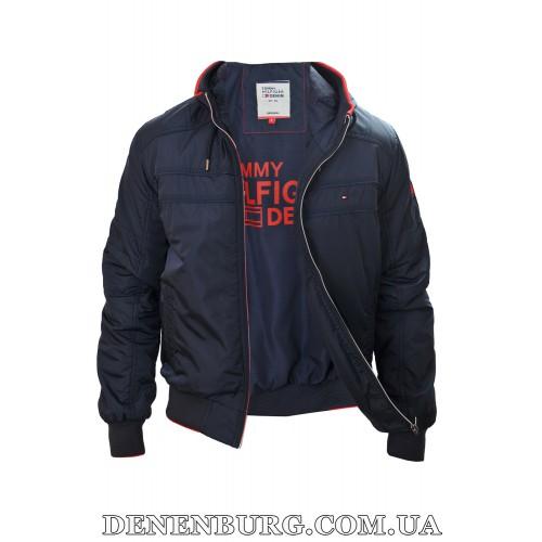 Куртка мужская демисезонная TOMMY HILFIGER 9013 тёмно-синяя