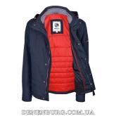 Куртка мужская демисезонная INDACO ITC601 тёмно-синяя
