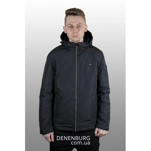 Куртка мужская демисезонная MALIDINU MC-17127 тёмно-синяя