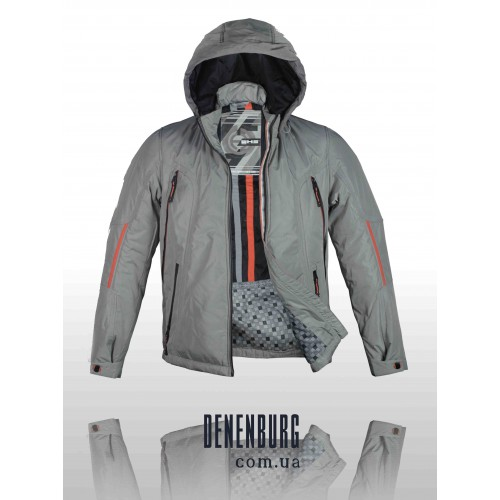 Куртка мужская демисезонная WHS 632292 K34 светло-серая