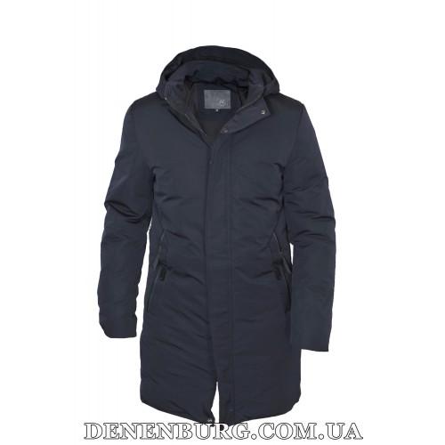 Куртка мужская зимняя HANDIGEFENG 20-L19016 тёмно-синяя