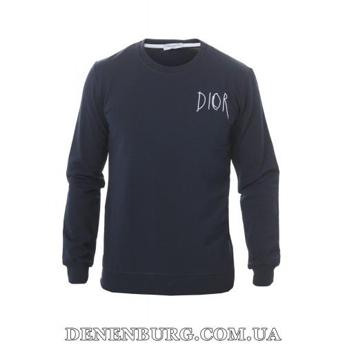 Свитшот мужской DIOR 20-K-9900 тёмно-синий