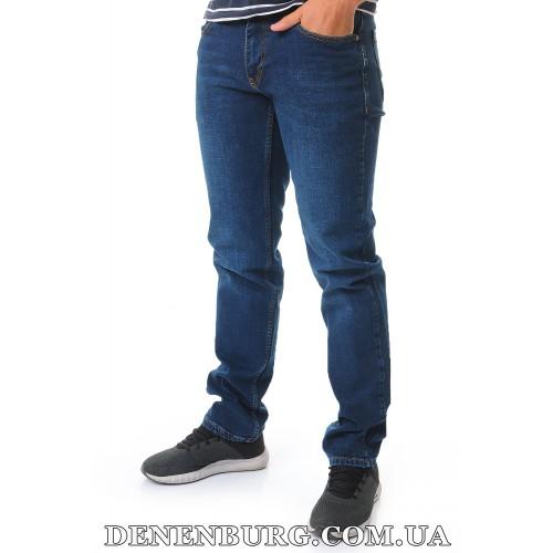 Джинсы мужские FRANCO BENUSSI 20-21-506 (L36) тёмно-синие