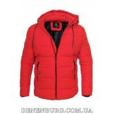 Куртка мужская зимняя HANDIGEFENG 20-9933 красная