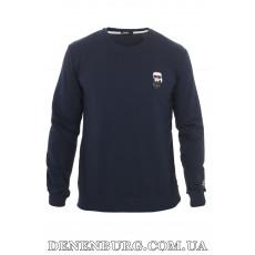 Свитшот мужской KARL LAGERFELD 20-K-1500 тёмно-синий