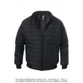 Куртка мужская демисезонная KLIMEBIR 20-406B чёрная