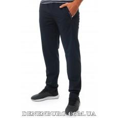 Штаны спортивные мужские летние PAUL & SHARK 20-930 тёмно-синие