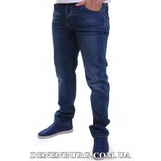 Джинсы мужские MUZZO 21-QB-9314 (L33) тёмно-синие