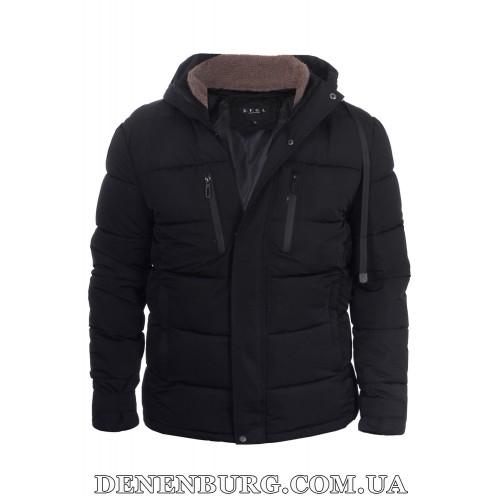 Куртка мужская зимняя KAIFANGELU 21-19052 чёрная