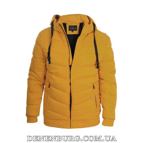 Куртка мужская зимняя KAIFANGELU 21-H503-1 жёлтая