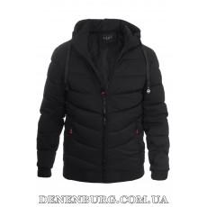 Куртка мужская зимняя KAIFANGELU 21-H503-1 чёрная